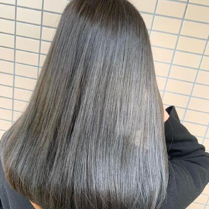 💛10月限定価格💛✨透明感カラー➕プレミアム髪質改善トリートメント✨