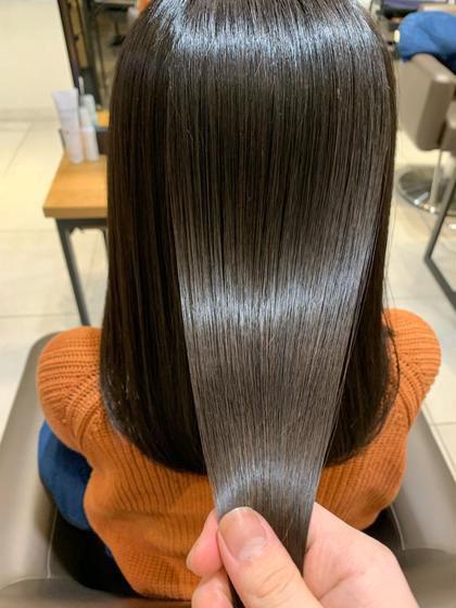 ✨今流行り✨髪質改善#酸熱トリートメント&オーガニックカラー&コラーゲンケア