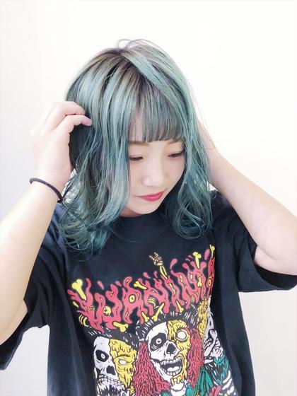 ハデ髪カラー+トリートメント