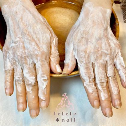 4月末で終了【通常価格より2,200円OFF❗️】ハンドスパ&自爪ケア👏🏻1回で効果抜群♥️手と自爪を一気に美しく✨