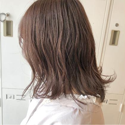 【モーブピンク】 HairModeKT池田点所属・中村壮汰のスタイル