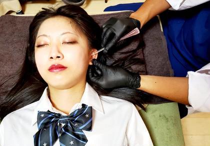 💐新メニュー💐【イヤーエステ美容针】♪リラックスしながらリフトアップ小顔👂️👌無料→美容灸🙆♂️