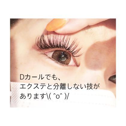 マツエク・マツパ カールの強いエクステを付けると、 とれやすい?エクステと自まつ毛が分離する? それは付け方次第です\( ˆoˆ )/ 詳しくはinstagram《ales_eyelash》に書いてます✏️