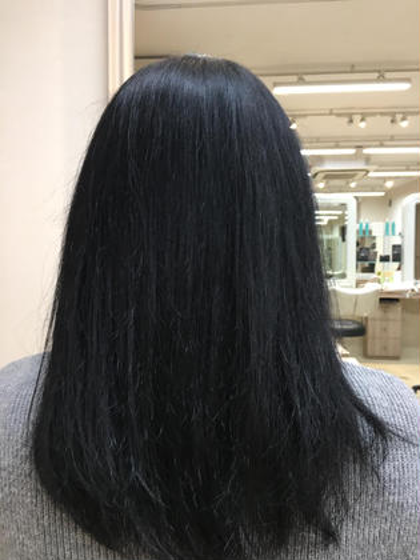 黒染めもできます✌️ Ash大倉山店所属・鈴木和誉のスタイル
