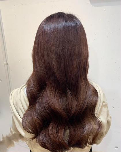 💐【ダントツ1番人気!イルミナカラー】うるうるつやつやカラーへ💐天使の輪ができます👼 髪質改善カラー💐