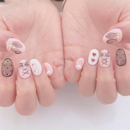 ネイル こちらはやり放題メニューになりますので事前にお問い合わせください #pinknail#pink#pinkstagram #pinklush #nail#ピンクネイル#ピンク#ガーリーネイル#キラキラネイル#ハートネイル#リボンネイル#シースルーネイル#手描きアート#harajuku#原宿#原宿ネイルサロン#プライベートネイルサロン#プライベートサロン#リボン#ラブリーネイル#うさみみ#うさみみネイル#うさぎネイル#うさぎ#春ネイル