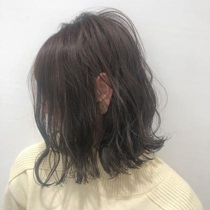⭐️カラー+毛髪改善最高級TOKIOトリートメント+炭酸泉Spa+簡単コテ巻きヘアアレンジ⭐️