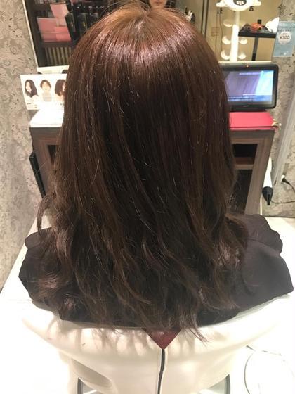 毛先グレージュ トリートメントメントサロンスローネ【Throne】所属・上村潤平のスタイル