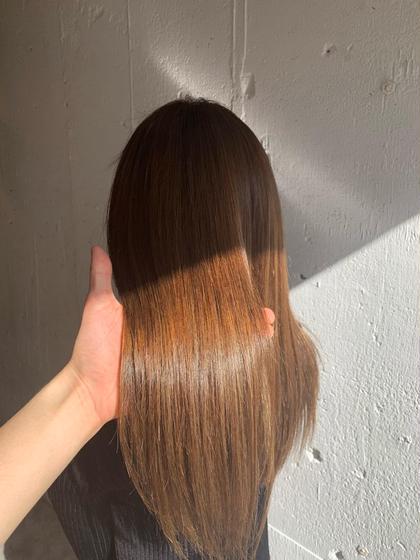 💖髪のボリューム・お癖が気になる方に🐥デザインカット&縮毛矯正&トリートメント💖