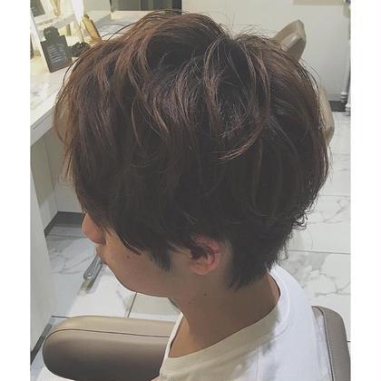 佐々木優佳のメンズヘアスタイル・髪型