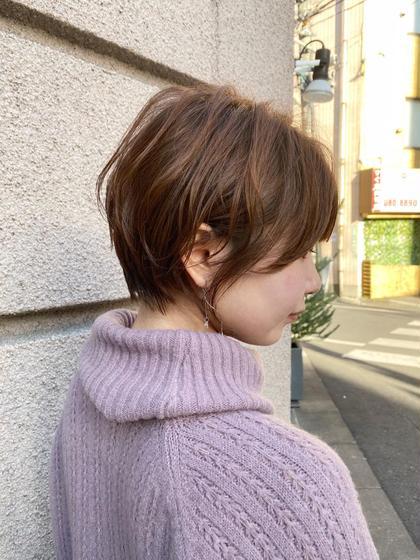 コスメデジタルパーマ+小顔似合わせカット +トリートメント【ショートorショートボブ限定】