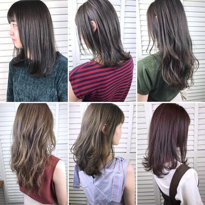 その他 カラー パーマ ヘアアレンジ ミディアム Real salon work💈 ブリーチなしカラー✔️ . ブリーチなしでもキレイなカラーはできます👨🏻🔧 明るくしたいのか暗くしたいのか? 髪質や履歴を見て判断します👌🏻 . 一回のカラーでできるものもあれば、繰り返し色味を積み重ねてできるモノもあります📝 . #ブリーチなし_nakai_color #積み重ねspecial . まずはやりたい色味やイメージをお伝え下さい🌿 . . #NAKAIstyle #ブリーチなし#カラー