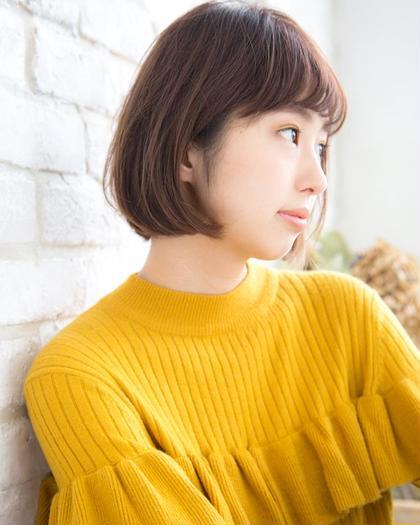 【女性限定】Emergeデザインカット(ブロー込)¥2200☆