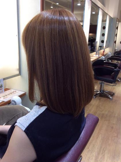 明るめのクリーミーアッシュ♡透明感と柔らかさがでます! 髪の修復専門店 ジールーム所属・千葉衣里子のスタイル