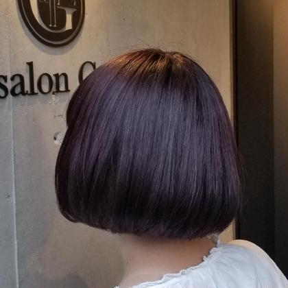 ✂️カット+前髪縮毛矯正!✂️