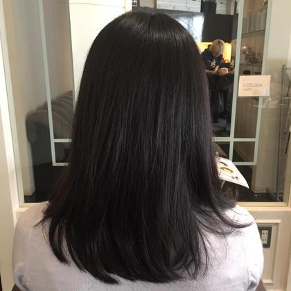 カットとトリートメントで艶髪セミロング✨ ARC所属・高橋淳樹のスタイル