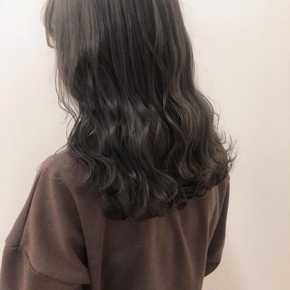 🖤『透明感たっぷり就活&実習カラー+前髪カット』 🖤