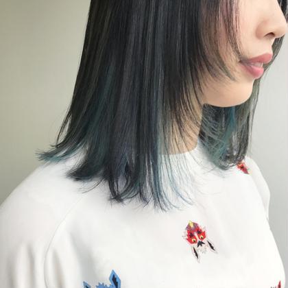 ブルージュハーフハイライト✨✨✨✨ 石橋美香のヘアスタイル・ヘアカタログ