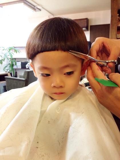 キノコチルドレン 山元亮拓のキッズヘアスタイル・髪型
