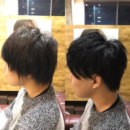 今回はマッシュをイメージしたカットです!(^ν^)  ですが、トップは動きが欲しいと おっしゃられましたので、少し短めにして動きを出しやすくした‼️ 和田魁のメンズヘアスタイル・髪型