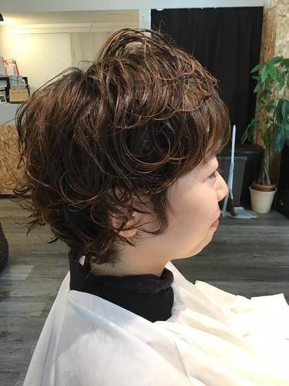 ⚗️パーマで髪が潤う?⚗️モイスチャーパーマエステ《カット、パーマ、トリートメント込み》