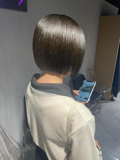 カット+髪質改善トリートメント😍誰でもツヤサラの髪に✨ブリーチ毛に対しても効果あり😍😍😍