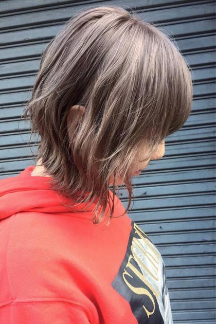 カラー ミディアム 透明感ハイアッシュ❤️ ⭐︎photo&color  担当スタイリスト  AKI☆⭐︎ ⭐︎instagram →  @aki.0218⭐︎