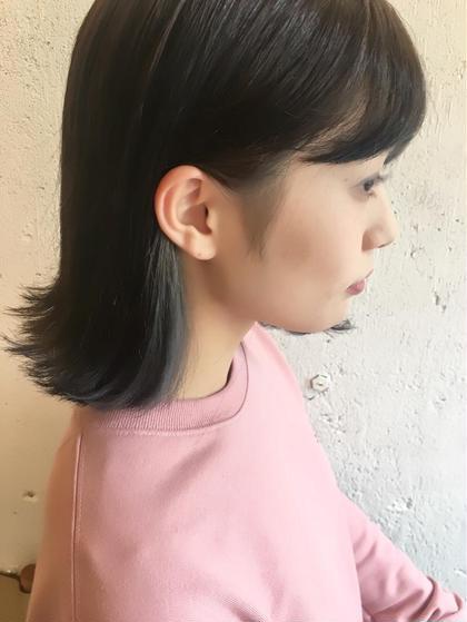 ⚪️【お洒落度UP☆】インナーカラー(ブリーチ1回)