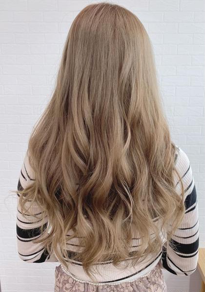 ✨オーガニック全体カラーPlus色持ちup💕トリートメント付き✨白髪染め対応💕💕コテ巻き仕上げ付き💕💕