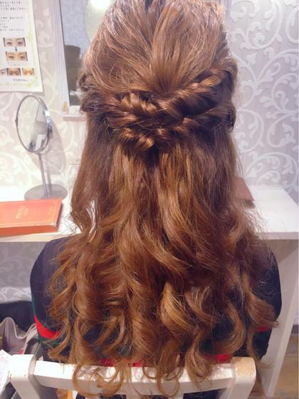 藤丸野乃香のロングのヘアスタイル