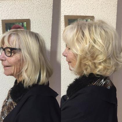 こちらはフランスで留学させて頂いた時のカットです 全体的に少しずつ短くして 前髪を厚めに残し、コテなど一切使わず ブラシのみでお仕上げさせて頂いきました Atelier JD PARIS所属・村上翔太のスタイル