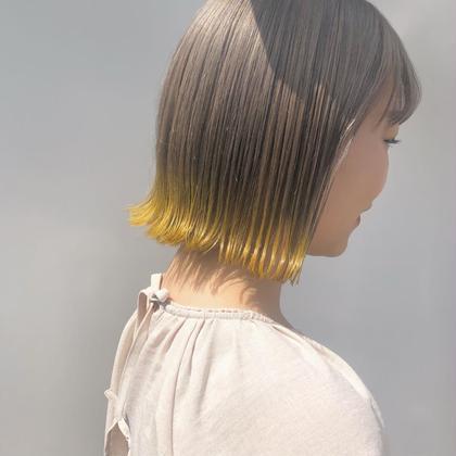 🎀 裾カラー 🎀 裾ブリーチ + オンカラー + トリートメント