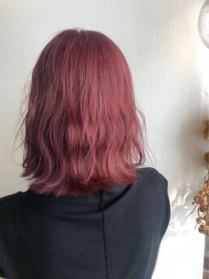 【3回目まで使える】ブリーチカラー & 艶髪トリートメント