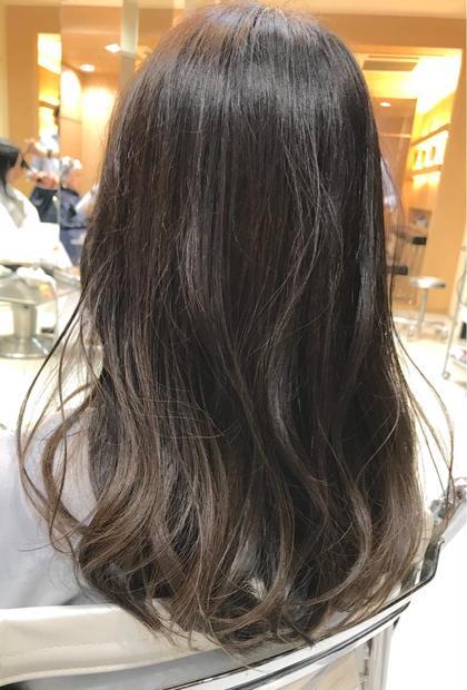 【2回目】ジアミンフリーのノンジアミンカラー&ブロー(おしゃれ染めor白髪染め)