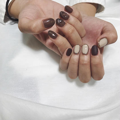 nuance design お任せください✳︎ instagram @aore.nail