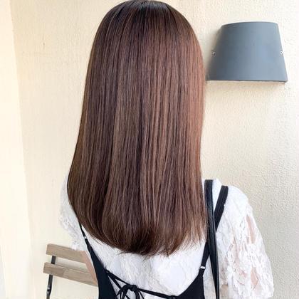 縮毛矯正+カラー【カット無し】
