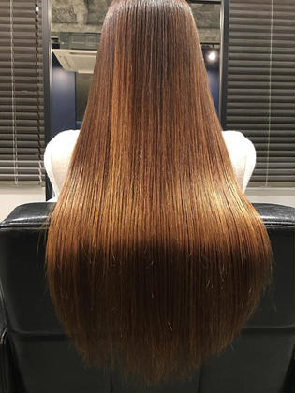「髪質改善ストレートエステ」 髪質改善ヘアエステサロンLIFE所属・神田達也のスタイル