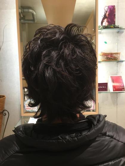 メンズ、パーマ 、カット EMU international 本店所属・伊藤裕美のスタイル