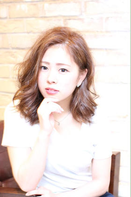 ふんわりスタイル^ ^ PEAKHAIR所属・ヨシザキユタカのスタイル