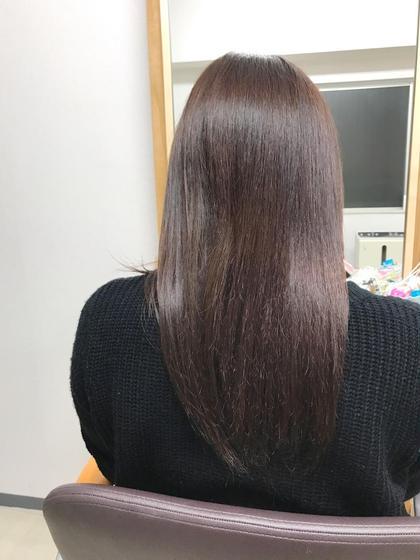 その他 ヘアアレンジ マツエク・マツパ ミディアム 付ける前〜〜ヘアエクステ