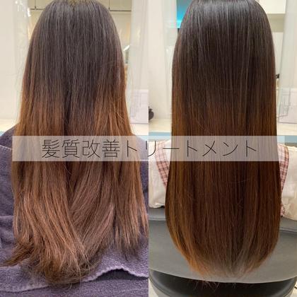 🧊髪質改善トリートメント🧊 くせ毛やパサパサの髪が嫌だけど切りたくない!そんなあなたの人生を変えます