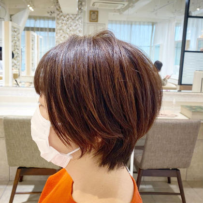 カット+カラー(肩ボブ〜鎖骨)