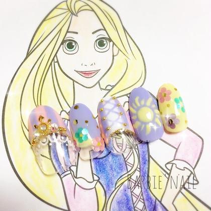 ラプンツェルネイル♡♡ ¥6.500- Barbie所属・澤崎結那のフォト