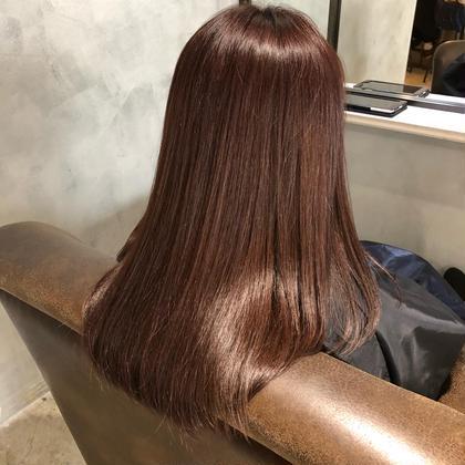 🌿人気No.2🌿どんな髪でも生き返る‼️髪質改善ダメージレスカラー✨ イルミナカラー+カット+髪質改善トリートメント