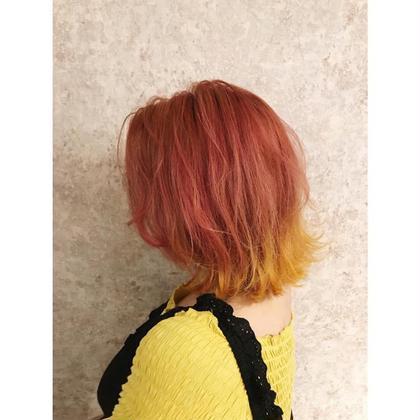 🌈🌈リニューアル特別価格🌈🌈カット+カラー+ヘッドスパ7680円🌈
