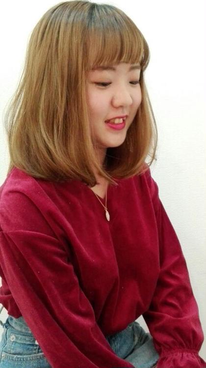 切りっぱなし★ボブ✂ PROGRESSひばりヶ丘店所属・山本美喜のスタイル