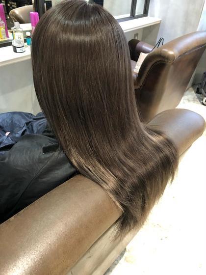 【学割24】✨初回平日16時まで限定✨選べる話題のカラー🌈高濃度スロウカラー+ヒアルロン酸トリートメント+前髪カット