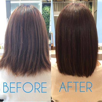 髪質改善トリートメント+小顔カット
