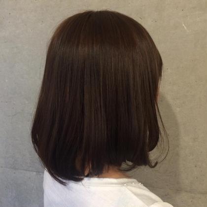 トリートメントとカラーでツヤサラ髪へ  Taebis  Alyssum所属・飯島まいのスタイル