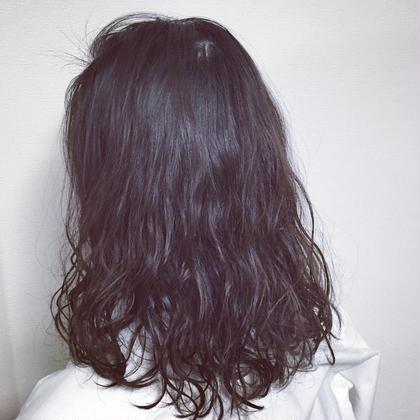 ウェットパーマ 松本平太郎美容室 銀座本店所属・植竹いぶきのスタイル